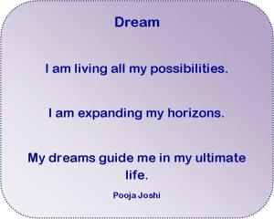 Affirmation-Dream