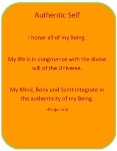 Affirmation-Authentic Self