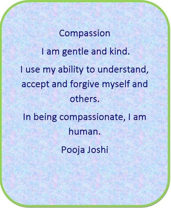 Affirmation-Compassion