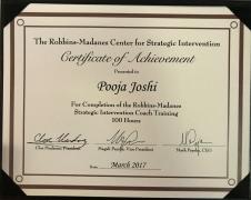 Strategic Intervention Coach Training Certificate-Robbins- Madanes Training Center